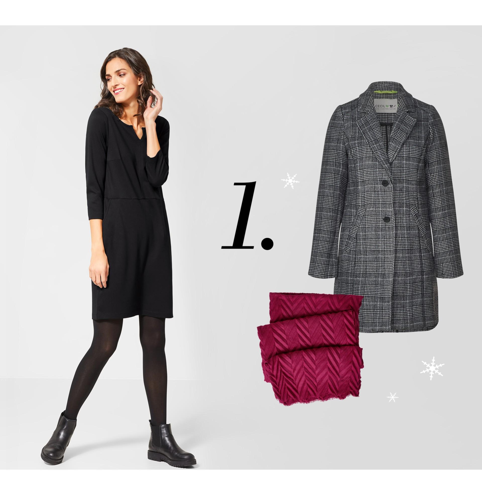 3 anlässe, 3 winter-outfits   cecil magazin